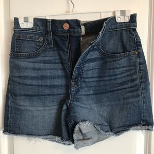 J.CREW high waist stretch denim short sz 26